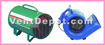 Dryer blower fans and centrifugal dryer blower fans are used for drying wet surfaces, such as wet carpets, walls, floors, and furniture. These dryer blower fans are approved by IVS, ASHRAE, AMCO, OSHA, UL, and MEP engineers.