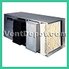 Commercial Ductable or stand alone air cleaner. Variaty of Filter Configurations, 40 lbs of CPZ, 2000 CFM