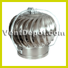 "Roof Turbine Vent for Industrial, Commercial, and Residential use. Available from 4"" to 24"" Turbine. Base not included. Galvanized Steel Construction. Dual Ball Bearing System. 10 Year Warranty."