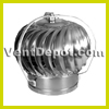 "Roof Turbine Vent for Industrial, Commercial, and Residential use. Available from 4"" to 24"" Turbine. Base not included. Stainless Steel Construction. Dual Ball Bearing System. 10 Year Warranty."