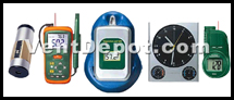 In our HVAC Measuring Instruments you will find Airflow Meters, Thermometers, Electrical Voltage and Amperage Testers and Meters, Data Loggers, Sound Level Meters, Humidity Meters, Clamp-on Meters, Laser Distance Meters, and everything the HVAC Professional needs. These HVAC / R Instruments are approved by OSHA, ASHRAE, AMCO, UL, and IVS.