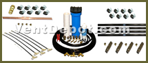 Misting Kits include Misting Kit Filtration Systems, Misting Kit Add on Kits, and Pre Built Misting Systems. All of these allow for repetitive misting setups to go by easier and faster. Recommend for amusement parks, restaurant outdoors and gardens, industrial processes, and commercial outdoors. These Misting Kits are approved by: OSHA, ASHRAE, AMCO, UL, and IVS Standards.