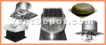 Our Roof Exhaust Fans Include Passive, Dynamic, and Electrical Roof Ventilation. We have a solar roof fan in various sizes. We have an electric attic roof ventilator in 3 colors. And we have medium and heavy duty Roof Exhaust Fans. With Direct and Belt Drive systems; plus we have Explosion Proof Roof Exhaust Fans. We also include a curb Exhaust or Intake Ventilation Fan. These Roof Fans are approved by: OSHA, ASHRAE, UL, AMCO, and IVS Standards.