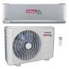<FONT size=1> <b>Capacidad en Toneladas:</b> 1, 1.5 y 2.0 <br> <b>Capacidad en BTUs:</b> 12000, 18000 y 24000. <br> <b>Gas Refrigerante:</b> R410a <br> <b>Color:</b>Gris Plata.<br> <b>Acondicionamiento:</b>Frío/Calor. <br> <b>Método de Encendido:</b> On/Off <br> <b>Eficiencia SEER:</b> 21, 23 y 22 <br> <b>Voltaje:</b> 220. <br> <b>Fases:</b> 1. <br> <b>Ciclos:</b> 60. <br> <b>Aplicaciones:</b> Industrias, comercios, tiendas departamentales, casas, edificios, iglesias, escuelas, negocios, hospitales, residencias, restaurantes, hoteles, etc. <br> <b>Garantía:</b> 1 año. <br> <b>Fabricación:</b> 0 a 15 días hábiles. <br> </FONT>