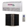 <FONT size=1> <b>Tipo de Unidad:</b> Piso Techo.<br> <b>Capacidad:</b> 2 a 5 Toneladas ó 24000 a 60000 BTUs.<br> <b>Gas Refrigerante:</b> R410a.<br> <b>Acondicionamiento:</b> Solo Frío.<br> <b>Eficiencias:</b> 11SEER<br> <b>Volaje:</b> 220V.<br> <b>Fases:</b> 1F.<br> <b>Ciclos:</b> 60Hz.<br> <b>Aplicaciones:</b> Residencias, hoteles, restaurantes, gimnasios, spa, laboratorios, etc.<br> <b>Garantía:</b> 1 año.<br> </FONT>
