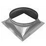 "Turbine Vent Bases are used for Industrial Buildings, Warehouses, Shops, Homes, and all occasion general ventilation. The Turbine Bases come in Aluminum, Galvanized Steel, Copper, and Stainless Steel. They range from 4"" diameters to 30"" diameters. Flat, Curb, Ridge, and single Slope options are available."