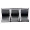 """<FONT size=1> <b>Material:</b> Aluminio.<br> <b>Dimensiones:</b> 16x8x1"""".<br> <b>Calibre:</b> .<br> <b>Acabado:</b> Blanco.<br> <b>Aplicaciones:</b> Sistema de ingestión estático, ideal como complemento a cualquier sistema de extracción de aire en Industria y oficinas.<br> </FONT>"""