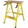 <FONT size=1> <b>Finalidad:</b> Banco de Trabajo.<br> <b>Medidas:</b> 60.5x64x81 cm.<br> <b>Material:</b> Acero y MDF.<br> <b>Sujeción:</b> 45°.<br> <b>Color:</b>Amarillo.<br> <b>Aplicaciones:</b> Residencial, Comercial e Industrial.<br> <b>Garantía:</b> 1 año.<br> </FONT>