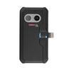 <FONT size=1> <b>Rango de Temperatura:</b> 20 a 120°C ó -4 a 248°F.<br> <b>Unidades:</b> °C y °F.<br> <b>Color:</b> Negro <br> <b>Pantalla:</b> 80x60 pixeles. <br> <b>Aplicaciones:</b> Para medición de temperatura, Inspecciones rigurosas,  cámara para android iPhone.<br> <b>Batería:</b> -.<br> <b>Garantía:</b> 1 año.<br> </FONT>