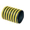 """Uso Industrial y Comercial.<br> Flexibilidad: Baja.<br> Rigidez: Alta.<br> Resistencia soplado: Alta.<br> Resistencia succión: Alta.<br> Resistencia abrasión: Alta.<br> Aplicación: SandBlasteo.<br> Fabricada de tela de poliester recubierta con doble capa de neopreno reforzada con cable de acero en espiral y una franja externa de poliester recubierto de PVC.<br>  Excelente resistencia a la abrasión y químicos.<br> De 3 a 24""""Ø x 7.62 m (25"""