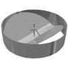 "<FONT size=1> <b>Diámetro Nominal:</b>4, 6, 8, 10, 12, 14, 16, 18, 20,22 y 24"" ø. <br> <b>Caudal:</b> <br> <b>Material:</b>  Galvanizado. <br> <b>Patrón de Inyección Variable:</b> Si. <br> <b>Patrón de Inyección Fijo:</b> Si. <br> <b>Control de Volumen:</b> N/A. <br> <b>Color:</b> Gris. <br> <b>Garantía:</b> 1 año. <br> </FONT>"