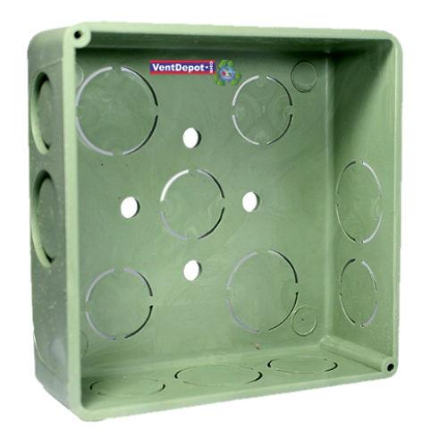 Caja cuadrada pvc tubo pvc el ctrico elecbox - Tuberia para instalacion electrica ...