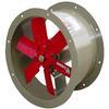 """<FONT size=1> <b>Caudal: </b>7136 hasta 31814 m³/hr. <br> <b>Presión Estática: </b>hasta 1.9"""" cda ó 48 mmcda. <br> <b>Aspas: </b> 16, 20, 24 y 26""""Ø .<br> <b>Material Aspas: </b> Aluminio Inyectado.<br> <b>Color: </b>Rojo.<br> <b>Material Carcasa: </b> Acero al carbón .<br> <b>Color: </b>Azul.<br> <b>Acoplamiento: </b>Directo.<br> <b>Motor: </b>1/2 hasta 2 HP. <br> <b>Voltaje: </b> 220/440V.<br> <b>Fases: </b> 3<br> <b>Uso: </b> Interior ó  Exterior.<br> <b>Temperatura: </b>Hasta 120 °C<br> <b>Nivel Sonoro: </b>74 hasta 89 dB.<br> <b>Acabado: </b> Pintura Electrostática.<br> <b>Flujo: </b> Inyector o Extractor. <br> <b>Aplicaciones: </b>Proyección directa y localizada de aire limpio, seco y frío en procesos comerciales e industriales, torres de enfriamiento, extracción de humo, gases en estacionamientos, etc.. <br> <b>Garantía: </b> 1 año.<br> </FONT>"""