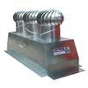 """<FONT size=1> <b>Material: </b> Aluminio Anodizado, Pintro ó Galvanizado<br> <b>Turbina: </b> 17"""" de Diámetro.<br> <b>Número de Turbinas: </b> Tres ó Cinco.<br> <b>Viento Máximo: </b> 240 Km/Hr.<br> <b>Estructura: </b> Con Sistema de Suspensión.<br> <b>Base: </b> Gigante de 32x86 ó 32x130"""", hasta pendientes 45º.<br> <b>Resistencia a Corrosión:</b> Excelente<br> <b>Tipo de Baleros:</b> Sellados Permanentemente.<br> <b>Número de Baleros:</b> Dos.<br> <b>Balero AutoLubricado:</b> Sí<br> <b>Flecha:</b> Barra Cilíndrica Sólida.<br> <b>Acabado:</b> Aluminio Anodizado.<br> <b>Color:</b> Aluminio.<br> <b>Ecológico:</b> Sí, bi-híbrido, eolico+gravitatorio<br> <b>Ahorra Energía Eléctrica:</b> Sí<br> <b>Extrae:</b> Aire Caliente, Olores, Humos, Vapores, Ambientes Salinos, Ambientes Corrosivos, Polvo en Suspensión, etc.<br> <b>Aplicaciones:</b> Naves Industriales, Almacenes, etc.<br> <b>Garantía:</b> Hasta 30 años<br> </FONT>"""
