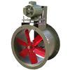"""<FONT size=1> <b>Caudal: </b>1146 hasta 12545m³/hr. <br> <b>Presión Estática: </b>hasta 1.6"""" cda ó 40 mmcda <br> <b>Aspas: </b> 10, 12, 16, 20 y 24""""Ø .<br> <b>Material Aspas: </b> Aluminio.<br> <b>Color: </b>Rojo.<br> <b>Material Carcasa: </b> Acero al carbón .<br> <b>Color: </b>Azul.<br> <b>Acoplamiento: </b>Polea y banda.<br> <b>Motor: </b>1/2 hasta 1 HP. <br> <b>Voltaje: </b> 127 y 220/440V.<br> <b>Fases: </b> 3<br> <b>Uso: </b> Interior ó  Exterior.<br> <b>Temperatura: </b>Hasta 85 °C<br> <b>Nivel Sonoro: </b>64 hasta 75 dB.<br> <b>Acabado: </b> Pintura Electrostática.<br> <b>Flujo: </b> Inyector o Extractor. <br> <b>Aplicaciones: </b>Uso en cabinas de pintura, campanas de extracción, procesos industriales, extracción de humo, impulsión de aire en conductos, etc. <br> <b>Garantía: </b> 1 año.<br> </FONT>"""