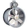 """<FONT size=1> <b>Caudal: </b>8229 hasta 45880 m³/hr. <br> <b>Presión Estática: </b>hasta 2""""cda  ó 51 mmcda.<br> <b>Aspas: </b> 22, 25, 28, 31, 35 y 39""""Ø .<br> <b>Material Aspas: </b> Aluminio Fundido.<br> <b>Color: </b> Gris.<br> <b>Material Carcasa: </b> Acero.<br> <b>Color: </b> Gris.<br> <b>Acoplamiento: </b>Polea y banda.<br> <b>Motor: </b>3/4 a 7.5HP. <br> <b>Voltaje: </b> 220/440V.<br> <b>Fases: </b> 3<br> <b>Uso: </b> Interior ó  Exterior.<br> <b>Temperatura: </b>Hasta 150 °C<br> <b>Nivel Sonoro: </b>86.8 hasta 106.2 dB.<br> <b>Acabado: </b> Pintura Electrostática.<br> <b>Flujo: </b> Inyector o Extractor. <br> <b>Aplicaciones:  </b> Extrae o transporta calor, vapor, humo, olores, solventes, partículas de polvo y pelusa. Uso en cabinas de pintura, campanas industriales, atmosferas agresivas, tanques de electrolisis, torres de enfriamiento.<br> <b>Norma: </b> IVS. <br> <b>Garantía: </b> 1 año.<br> </FONT>"""