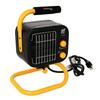 <FONT Size=1> <b>Type:</b> 120 Volt Ceramic Fan Forced Portable Heater<br> <b>Manufacturer:</b> TPI<br> <b>Model Series:</b> 178 Series<br> <b>Voltage:</b> 120V<br> <b>Amperes:</b> 12.5/7.1A<br> <b>Phases:</b> 1 Phase<br> <b>Watts:</b> 1500/950W<br> <b>Heat Output:</b> 5120BTUs<br> <b>Ship By:</b> Ground Shipping<br> <b>Lead Time:</b> 5 Business Day<br> </FONT>