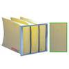 """<FONT size=1> <b>Eficiencia:</b> 80 a 85%.</b> <br> <b>Clasificación MERV:</b> 14.</b> <br> <b>Tipo de Filtro:</b> Sacudible. <br> <b>Material de Elemento Filtrante:</b> Poliester</b> <br> <b>Dimensiones Nominal:</b> 20x20 hasta 24x24"""".</b> <br> <b>Espesor Nominal:</b> 12 a 36"""".</b> <br> <b>Mantenimiento:</b> Desechable.</b> <br> <b>Material de Marco:</b> Acero Galvanizado.</b> <br> <b>Aplicación:</b>Uso industrial y comercial, se acoplan fácilmente a toda nuestra línea deTurboCampanas y TurboGabinetes porta TurboFiltros para equipos TurboAxiales, TurboHongos, TurboTubulares y TurboCentrífugos</b> <br> <b>Garantía:</b> En base al uso.<br> </FONT>"""