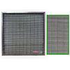 """<FONT size=1> <b>Eficiencia:</b> 45 a 55%.</b> <br> <b>Calificación MERV:</b> 6.</b> <br> <b>Tipo de Filtro:</b> Lavable. <br> <b>Material de Elemento Filtrante:</b> Mosquitero Aluminio 14 mesh</b> <br> <b>Dimensiones Nominal:</b>8x8x1 hasta 60x60x1.</b> <br> <b>Espesor Nominal:</b> 1"""".</b> <br> <b>Mantenimiento:</b> Lavable./b> <br> <b>Material de Marco:</b> Lámina Galvanizada.</b> <br> <b>Aplicación:</b> Captura: Pelusa, viruta y rebabas</b> <br> <b>Garantía:</b> En base al uso.<br> </FONT>"""