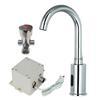 """<FONT size=1> <b>Sistema:</b> Automático.<br> <b>Distancia del Sensor:</b> 8 a 30 cm.<br> <b>Flujo de Agua:</b> 8 a 11 L/min.<br> <b>Presión del Agua:</b> 0.05 a 0.6 Mpa. <br> <b>Temperatura del Agua:</b> Frío ó Caliente / Frío.<br> <b>Tipo de Baterías:</b> 4 x AA<br> <b>Voltaje:</b> 127V - 60Hz.<br> <b>Diametro de la Rosca:</b> G 1/2"""".<br> <b>Color:</b> Cromo.<br> <b>Aplicaciones:</b> Es utilizado en los baños como lo son en hoteles, hogar, restaurantes, residencias, departamentos, oficina, consultorios, cocinas, etc.<br> <b>Garantía:</b> 1 año.<br> </FONT>"""