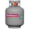 <FONT size=1> <b>Uso:</b> Residencial, Comercial e Industrial.<br> <b>Gas:</b> L.P..<br> <b>Color:</b> Blanco.<br> <b>Acabado:</b> Pintura Horneada.<br> <b>Aplicaciones:</b> Ideal para nuestros Calefactores Ventdepot, casas, negocios, taller, residencias, etc..<br> </FONT>