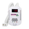 <FONT size=1> <b>Sensor:</b> Gas. <br> <b>Alarma Auditiva:</b> 85 a 105 dB. <br> <b>Alarma Visual Roja:</b> Si. <br> <b>Color:</b> Blanco. <br> <b>Tipo de Batería:</b> 2x 9 V AA. <br> <b>Batería:</b> Si. <br> <b>Alarma de Batería Baja:</b> Si. <br> <b>Pantalla:</b> Si. <br> <b>Temperatura:</b> 0 a 50 °C. <br> <b>Aplicaciones:</b> Casa residencial, villas, hoteles, mercados, casa de huéspedes, etc.<br> <b>Garantía:</b> 1 año. <br> <b>Fabricación:</b> 0 A 10 Días Hábiles. <br> </FONT>