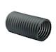 """Uso Industrial y Comercial.<br> Flexibilidad: Media.<br> Rigidez: Media.<br> Resistencia soplado: Alta.<br> Resistencia succión: Alta.<br> Resistencia abrasión: Alta.<br> Fabricada en caucho termoplástico de peso muy liviano y reforzada con un resorte de cable de acero en espiral.<br> De 2 a 6""""Ø x 7.62 m (25"""