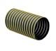 """Uso Industrial y Comercial.<br> Flexibilidad: Media.<br> Rigidez: Media.<br> Resistencia soplado: Alta.<br> Resistencia succión: Alta.<br> Resistencia abrasión: Alta.<br> Fabricada en caucho termoplástico de peso pesado y reforzada con un resorte de cable de acero en espiral y una franja externa de polipropileno.<br> De 8 a 12""""Ø x 7.62 m (50"""
