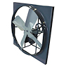 We are authorized distributors for Triangle Engineering of AR and TPI Corporation line of Axial Wall Fans. You can purchase fans from 10 inch diameters up to 60 inch diameters. Our fans include commercial and industrial ventilation wall fans. We also carry Hazardous Location or Explosion Proof wall fans.