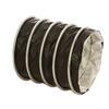 """<FONT size=1> <b>Material:</b> Fabricada de tela de fibra de vidrio recubierta con una capa de Teflón mecánicamente ondulada en un proceso continuo.<br> <b>Dimensiones: </b> De 3 a 18""""Ø x 7.62 m (25) pies de largo.<br> <b>Temperatura: </b> Entre -53 y 260°C (-65 a 500°F).<br> <b>Uso: </b> Industrial y Comercial.<br> <b>Flexibilidad: </b> Alta.<br> <b>Rigidez: </b> Media.<br> <b>Resistencia soplado: </b> Alta.<br> <b>Resistencia succión: </b> Media.<br> <b>Resistencia abrasión:</b> Baja.<br> <b>Aplicaciones:</b> Industria Alimenticia, excelente resistencia a la abrasión y flexibilidad.<br> <b>Garantía:</b> 1 (Un) año de Garantía en todas las mangueras flexibles certificado por escrito, sujeto a las cláusulas.<br> </FONT>"""
