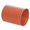 """<FONT size=1> <b>Material:</b> Fabricadas de tela de fibra de vidrio recubierta con una capa de silicón y reforzada con un resorte de cable de acero en espiral y un cordón externo de filamento de fibra de vidrio.<br> <b>Dimensiones: </b> De 1 a 8""""Ø x 3.81 m (12) pies de largo.<br> <b>Temperatura: </b> Entre -54° a 287°C (-65° a 550°F).<br> <b>Uso: </b> Industrial y Comercial.<br> <b>Flexibilidad: </b> Alta.<br> <b>Rigidez: </b> Alta.<br> <b>Resistencia soplado: </b> Alta.<br> <b>Resistencia succión: </b>  Media.<br> <b>Resistencia abrasión:</b> Baja.<br> <b>Aplicaciones:</b> Industria Alimenticia.<br> <b>Garantía:</b> 1 (Un) año de Garantía en todas las mangueras flexibles certificado por escrito, sujeto a las cláusulas.<br> </FONT>"""