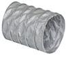 """<FONT size=1> <b>Material:</b> Fabricada de tela de fibra de vidrio recubierta con una capa de silicona mecánicamente ondulada en un proceso continuo.<br> <b>Dimensiones: </b> De 3 a 18""""Ø x 7.62 m (25) pies de largo.<br> <b>Temperatura: </b> Entre -53 y 287°C (-65 a 550°F).<br> <b>Uso: </b> Industrial y Comercial.<br> <b>Flexibilidad: </b> Alta.<br> <b>Rigidez: </b> Baja.<br> <b>Resistencia soplado: </b> Alta.<br> <b>Resistencia succión: </b>  Media.<br> <b>Resistencia abrasión:</b> Baja.<br> <b>Aplicaciones:</b> Industria Alimenticia, excelente resistencia a la abrasión y flexibilidad.<br> <b>Garantía:</b> 1 (Un) año de Garantía en todas las mangueras flexibles certificado por escrito, sujeto a las cláusulas.<br> </FONT>"""