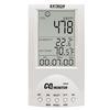 Para uso Industrial, Residencial y/o Comercial. El DioxidMeter, con Rangos de medición de CO2: Desde 0 hasta 9999ppm. Temperatura: Desde -10 hasta 60°C. Humedad: Desde 10 a 90%. Disponible