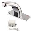 """<FONT size=1> <b>Sistema:</b> Automático.<br> <b>Distancia del Sensor:</b> 8 a 30 cm.<br> <b>Flujo de Agua:</b> 8 a 11 L/min.<br> <b>Presión del Agua:</b> 0.05 a 0.6 Mpa.<br> <b>Temperatura del Agua:</b> Frío.<br> <b>Tipo de Baterías:</b> 4 x AA<br> <b>Voltaje:</b> 127V - 60Hz.<br> <b>Diametro de la Rosca:</b> G 1/2"""".<br> <b>Color:</b> Cromo.<br> <b>Aplicaciones:</b> Es utilizado en los baños como son en hoteles, hogar, restaurantes, residencias, departamentos, oficina, consultorios, etc. <br> <b>Garantía:</b> 1 año.<br> </FONT>"""