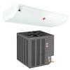 <FONT size=1> <b>Tipo de Unidad:</b> Piso Techo.<br> <b>Capacidad:</b> 2 a 5 Toneladas ó 24000 a 60000 BTUs.<br> <b>Gas Refrigerante:</b> R410a.<br> <b>Acondicionamiento:</b> Solo Frío.<br> <b>Eficiencias:</b> 11EER<br> <b>Volaje:</b> 220V.<br> <b>Fases:</b> 1F.<br> <b>Ciclos:</b> 60Hz.<br> <b>Aplicaciones:</b> Residencias, hoteles, restaurantes, gimnasios, spa, laboratorios, etc.<br> <b>Norma:</b> ASHRAE, IVS.<br> <b>Garantía:</b> 1 año.<br> </FONT>