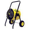 <FONT Size=1> <b>Type:</b> Portable Electric TPI Salamander<br> <b>Manufacturer:</b> TPI<br> <b>Model Series:</b> FES<br> <b>Voltage:</b> 240V<br> <b>Amperes:</b> 38 & 42A<br> <b>Phases:</b> 1Ph<br> <b>Kilowatts:</b> 9 & 10Kw<br> <b>Heat Output:</b> 30717 & 34130BTUs<br> <b>Temp. Rise:</b> 25° & 30°<br> <b>Air Flow:</b> 800CFM<br> <b>Ship By:</b> Ground Shipping<br> <b>Lead Time:</b> 20 Business Day<br> </FONT>