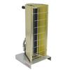 <FONT Size=1> <b>Product Description:</b> Electric Infrared 1 Lamp TPI Heater<br> <b>Weather Rating:</b> Indoor<br> <b>Watts:</b> 1450W<br> <b>Heat Output:</b> 4947BTUs<br> <b>Voltage:</b> 120,208,240,277,480 or 600V<br> <b>Reflector Angles:</b> 60°<br> <b>Color:</b> Aluminum<br> <b>Cord:</b> With<br> <b>Lamp Amount:</b> 1 Lamp<br> <b>Amperes:</b> 2.52 to 12.1A<br> <b>Product Type:</b> Electric Portable/Electrical TPI Heaters<br> <b>Ship By:</b> Ground Shipping<br> <b>Lead Time:</b> 20 Business Day<br> </FONT>
