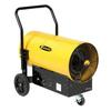 <FONT Size=1> <b>Type:</b> Portable Electric TPI Salamander<br> <b>Manufacturer:</b> TPI<br> <b>Model Series:</b> FES<br> <b>Voltage:</b> 480 to 600V<br> <b>KiloWatts Power:</b> 45 KWatts<br> <b>Air Flow:</b> 2200CFM<br> <b>Phases:</b> 3 Phase<br> <b>Amperes:</b> 44 to 54.2A<br> <b>Temperature Rise:</b> 70°<br> <b>Cord Options:</b> With or Without<br> <b>Ship By:</b> Ground Shipping<br> <b>Lead Time:</b> 20 Business Day<br> </FONT>