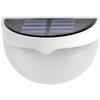 <FONT size=1> <b>Color de la Luz: </b> Blanco Frío <br> <b>Watts: </b> 0.26 <br> <b>Lm: </b> 6 <br> <b>Celda Solar: </b> Si <br> <b>Fuente de Luz: </b> Bombillas LEd <br> <b>Tensión: </b> 2V <br> <b>Nivel de Protección: </b> IP55 <br> <b>Cantidad de Led: </b> 6 <br> <b>Lúmenes: </b> 6 <br> <b>Material: </b> Eco-friendly ABS,PC <br> <b>Batería: </b> Con  <br> <b>Batería Tipo: </b> Ni-MH, Niquel-Metal  <br> <b>Batería Carga: </b> 1.2 V/1000 mA <br> <b>Tiempo de carga: </b> 8Hrs <br> <b>Tiempo de trabajo: </b> 8Hrs <br> <b>Ángulo de inducción: </b> 90° <br> <b>Tipo de Sensor: </b> Foto Celda <br> <b>Distancia de detección: </b> N/A <br> <b>Color: </b> Blanco <br> <b>Aplicaciones: </b> Escaleras, caminos, entradas, patios, pasillos, paredes, entre otros <br> <b>Garantía: </b> 1 año <br> </FONT>