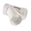 <FONT size=1> <b>Diámetro Nominal :</b> 110x50 mm.<br> <b>Tipo:</b> Yee Sencilla con Salida Reducida.<br> <b>Color:</b> Blanco.<br> <b>Material:</b> PVC.<br> <b>Norma:</b> NMX-E-199/1-SCFI-1998.<br> <b>Aplicaciones:</b>  Ideal para sistemas sanitarios para desalojar por gravedad residuales domesticas o industriales, aguas pluviales.  <br> <b>Garantía:</b> 1 año.<br> <b>Fabricación:</b> 0 a 5 días hábiles.<br> </FONT>
