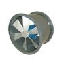 We manufacture and sell tube axial fans which are made to handle medium air pressures in side ducts. Our tube axial fans are available in direct drive or belt drive systems. The tube axial fans use open, totally enclosed, explosion proof, or hazardous location motors. These fans can handle smoke, mists, oil, grease, or light dust in air. The tube axial fans can connect with our entire line of air ducts, air filters, kitchen hoods, industrial hoods, and HVAC accessories.