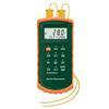 "<FONT size=1> <b>Uso:</b> Objetos.<br> <b>Unidades:</b> °C.<br> <b>Temperatura Tipo K:</b> -200 a 1372ºC.<br> <b>Temperatura Tipo J:</b>-210 a 1100ºC<br> <b>Dimensión:</b> 3x7x1""<br> <b>Color:</b> Verde/Naranja<br> <b>Aplicaciones:</b> Industrias, procesos, fabricas, maquinarias, alimentos, etc.<br> <b>Batería:</b> 1 x 9V.<br> <b>Garantía:</b> 1 año.<br> </FONT>"