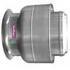 Uso industrial y comercial. Extracción de aire limpio. Para descarga de aire perpendicular a la pared. Polea y Banda. 1600 hasta 10773m3/hr. 1/4 hasta 2HP en 220/440V, 1/3HP en 127V. 100% Aluminio.