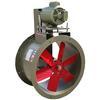 """<FONT size=1> <b>Caudal: </b>1146 hasta 12545m³/hr. <br> <b>Presión Estática: </b>hasta 1.6"""" cda ó 40 mmcda <br> <b>Aspas: </b> 10, 12, 16, 20 y 24""""Ø .<br> <b>Material Aspas: </b> Aluminio.<br> <b>Color: </b>Rojo.<br> <b>Material Carcasa: </b> Acero al carbón .<br> <b>Color: </b>Cafe.<br> <b>Acoplamiento: </b>Polea y banda.<br> <b>Motor: </b>1/2 hasta 1 HP. <br> <b>Voltaje: </b> 220/440V.<br> <b>Fases: </b> 3<br> <b>Uso: </b> Interior ó  Exterior.<br> <b>Temperatura: </b>Hasta 85 °C<br> <b>Nivel Sonoro: </b>64 hasta 75 dB.<br> <b>Acabado: </b> Pintura Electrostática.<br> <b>Flujo: </b> Inyector o Extractor. <br> <b>Aplicaciones: </b>Uso en cabinas de pintura, campanas de extracción, procesos industriales, extracción de humo, impulsión de aire en conductos, etc. <br> <b>Garantía: </b> 1 año.<br> </FONT>"""