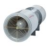"""<FONT size=1> <b>Caudal:</b> 3588 a 10371m3/hr.<br> <b>Ducto:</b> 4""""Ø.<br> <b>Voltaje:</b> 127/ 220V  ó 208-230/460V/1 ó 3F/60Hz.<br> <b>Potencia:</b> 1135, 1150, 1750 y 1755 RPM.<br> <b>Amperes:</b> 7,6/3,3 ó 4,5 -4,3 /2,1.<br> <b>Nivel Sonoro:</b> 69 a 96 dB.<br> <b>Aplicaciones:</b>  es utilizado en túneles de acceso, estacionamientos, recintos subterráneos. <br> <b>Garantía:</b> 1 año.<br> </FONT>"""