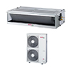 <FONT size=1> <b>Tipo de Unidad:</b> Fan Coil.<br> <b>Capacidad:</b> 4.5 Toneladas ó 54000 BTUs.<br> <b>Gas Refrigerante:</b> R-410A.<br> <b>Acondicionamiento:</b> Sólo Frío.<br> <b>Eficiencias:</b> 17SEER<br> <b>Voltaje:</b> 220V.<br> <b>Fases:</b> 1F.<br> <b>Ciclos:</b> 60Hz.<br> <b>Aplicaciones:</b>  es utilizado en centros comerciales, residencias, hospitales, escuelas, edificios, restaurantes, hoteles, bancos, oficinas, departamentos, consultorios, salas, hogar.<br> <b>Garantía:</b> 1 año.<br> <b>Fabricación:</b> 0 a 8 días hábiles.<br> </FONT>