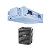 <FONT size=1> <b>Tipo de Unidad:</b> Fan and Coil.<br> <b>Capacidad:</b> 1.5 a 5.0 Toneladas ó 18000 a 60000 BTUs.<br> <b>Gas Refrigerante:</b> R-410A.<br> <b>Acondicionamiento:</b> Frío / Calor.<br> <b>Eficiencias:</b> 14 y 16 SEER<br> <b>Voltaje:</b> 208-230V.<br> <b>Fases:</b> 1F.<br> <b>Ciclos:</b> 60Hz.<br> <b>Aplicaciones:</b> Moteles, centros educativos, hospitales, tiendas comerciales, consultorios, etc.<br> <b>Garantía:</b> 1 año.<br> <b>Fabricación:</b> 0 a 15 días hábiles.<br> </FONT>