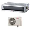 <FONT size=1> <b>Tipo de Unidad:</b> Fan Coil.<br> <b>Capacidad:</b> 1.5 Toneladas ó 18000 BTUs.<br> <b>Gas Refrigerante:</b> R-410A.<br> <b>Acondicionamiento:</b> Sólo Frío.<br> <b>Eficiencias:</b> 19SEER<br> <b>Voltaje:</b> 220V.<br> <b>Fases:</b> 1F.<br> <b>Ciclos:</b> 60Hz.<br> <b>Aplicaciones:</b>  es utilizado en centros comerciales, residencias, hospitales, escuelas, edificios, restaurantes, hoteles, bancos, oficinas, departamentos, consultorios, salas, hogar<br> <b>Garantía:</b> 1 año.<br> <b>Fabricación:</b> 0 a 8 días hábiles.<br> </FONT>