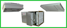 We are authorized distributors for Honeywell Commercial Air Products. These air filtration or commercial air filters are commercial and industrial air purifiers. We sell the F114 F111 F116 F90 F57A F57B F118 Commercial and Industrial Honeywell Air Filtration Systems.
