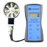 <FONT size=1><br> <b>Anemometer Type:</b> Digital Vane Anemometer<br> <b>Air Velocity Range:</b> 40 to 7800FPM with 2.75 inch vane and 100 to 6800FPM with 1.00 inch vane<br> <b>3 Model Options:</b> 6812 Air Vel. and Flow Rate, 6813 Air Vel., Flow Rate, and Temp., and 6815 Air Vel., Flow Rate, Temp., and Relative Humidity<br> <b>Optional Data Outputs:</b> Analog 0 to 5 Volt, RS-232C, and USB<br> <b>Duct Size Memory:</b> Store up to 10 duct sizes<br> <b>Software:</b> Windows Software available<br> <b>Power Supply:</b> 3AA Alkaline Batteries<br> <b>Accuracy:</b> +/- 1% of reading<br> <b>Warranty:</b> 1 year<br> </FONT>